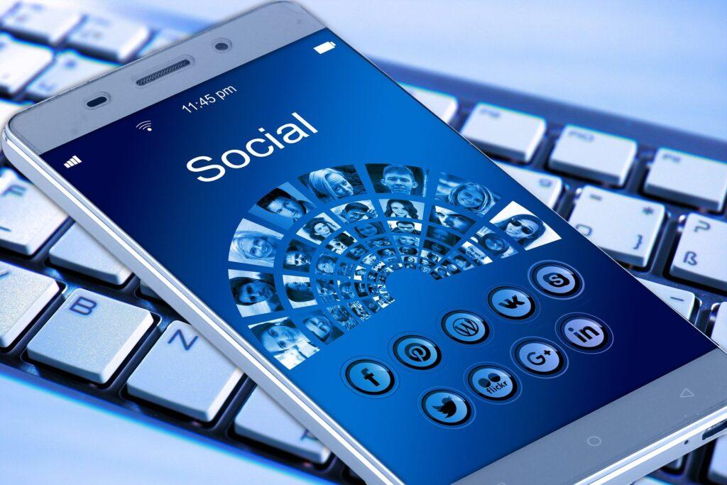 Social hjemmeside