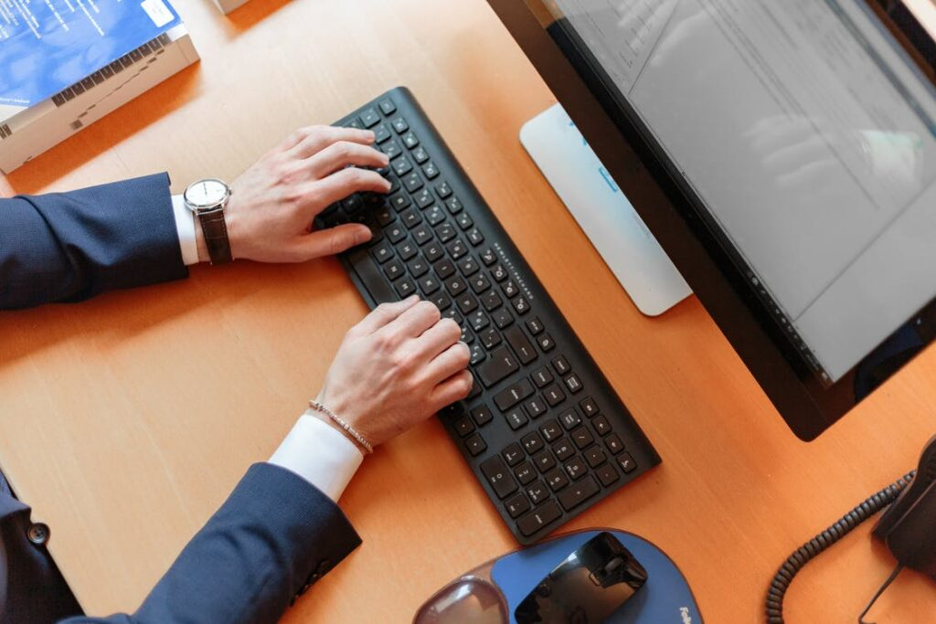 Arbejde ved computer